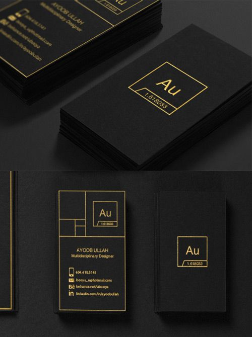 Business-Cards-Black-And-Gold