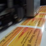 Short run bottle labels printing