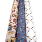 Custom wrapping paper rolls
