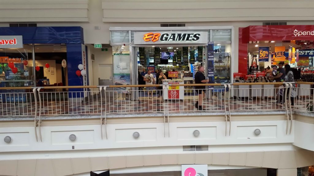 MacAurthur Square Shopfront EB Games