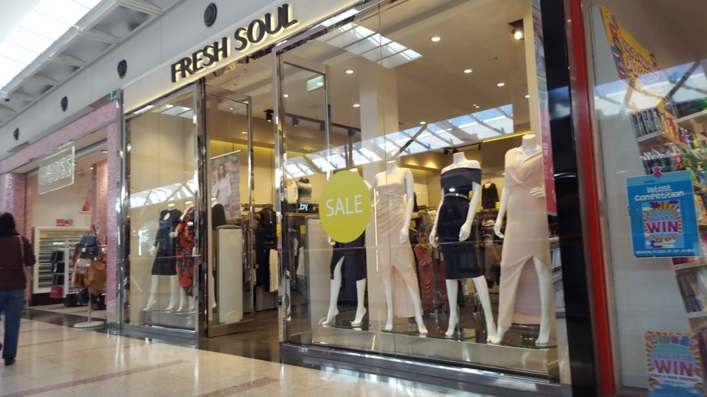 MacAurthur Square Shopfront Fresh Soul