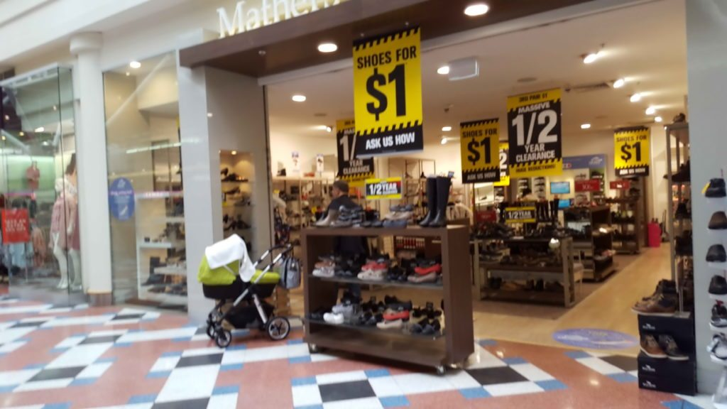 MacAurthur Square Shopfront Mathers Shoes