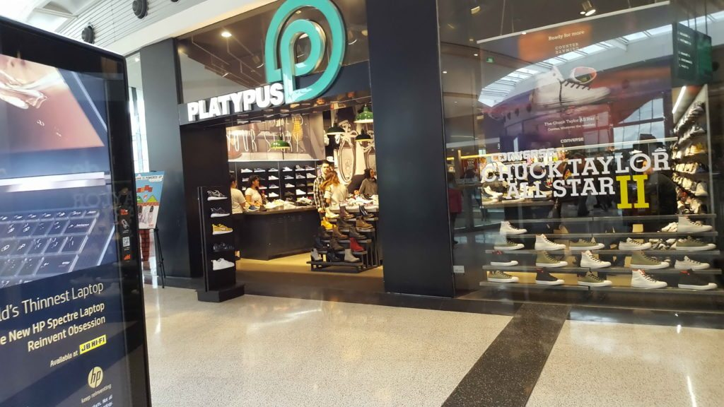 MacAurthur Square Shopfront Platypus