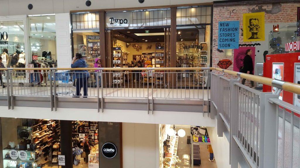 MacAurthur Square Shopfront Typo