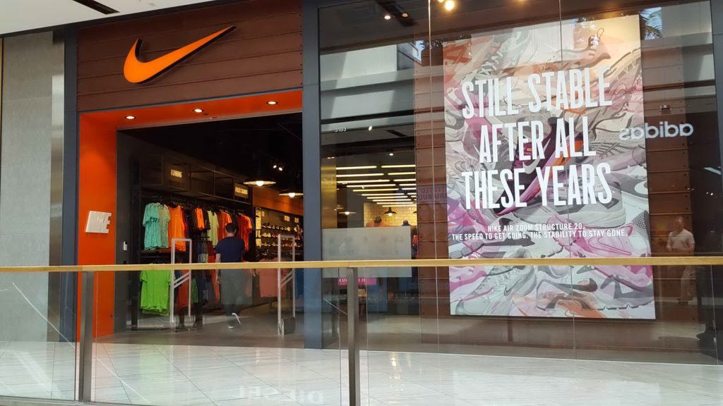 Nike Shopfront Miranda November 2016