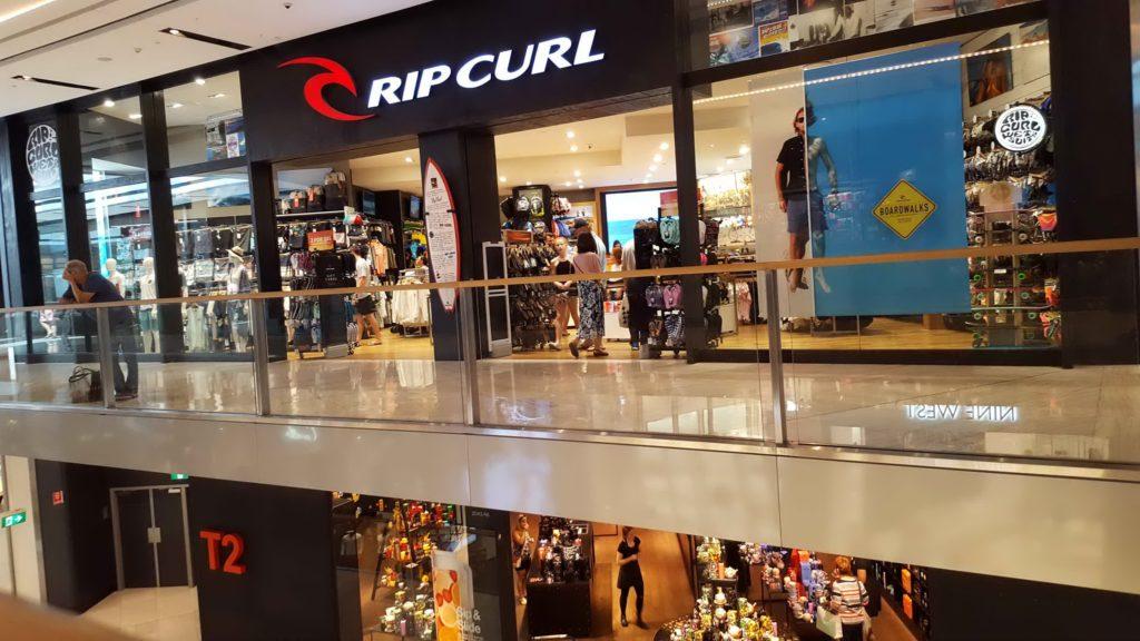 Rip Curl Shopfront Miranda November 2016