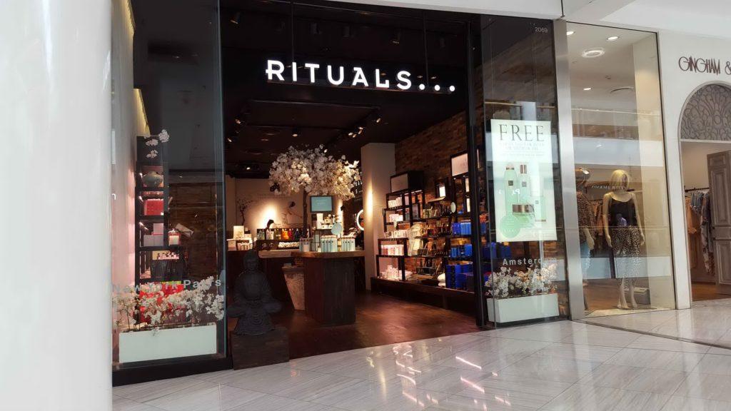 Rituals Shopfront Miranda November 2016