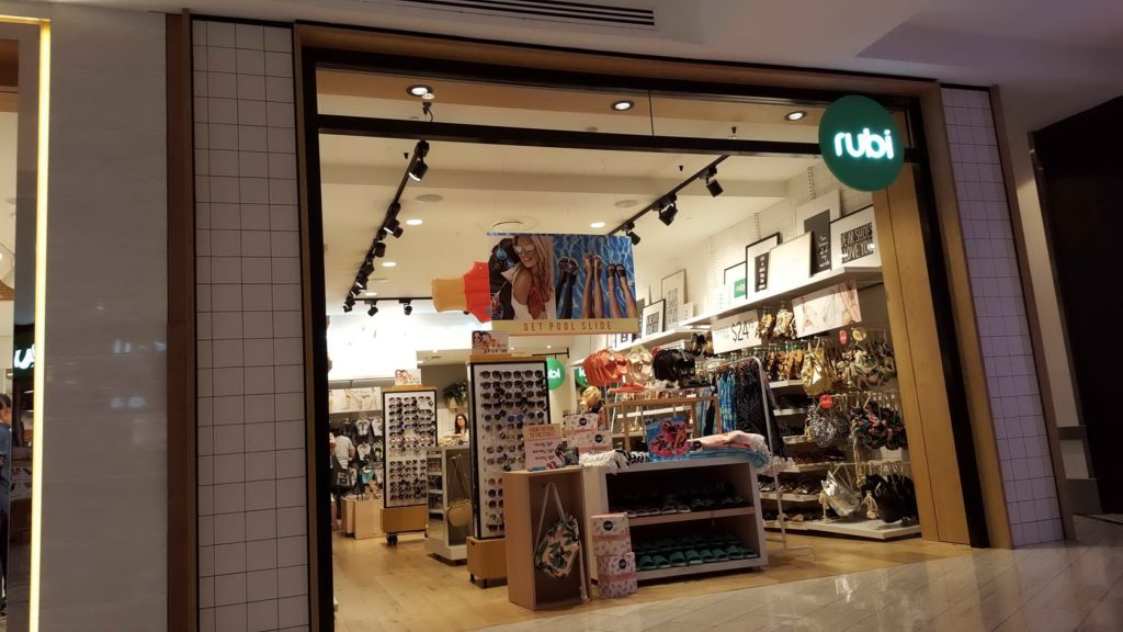 Rubi Shoes Shopfront Miranda November 2016