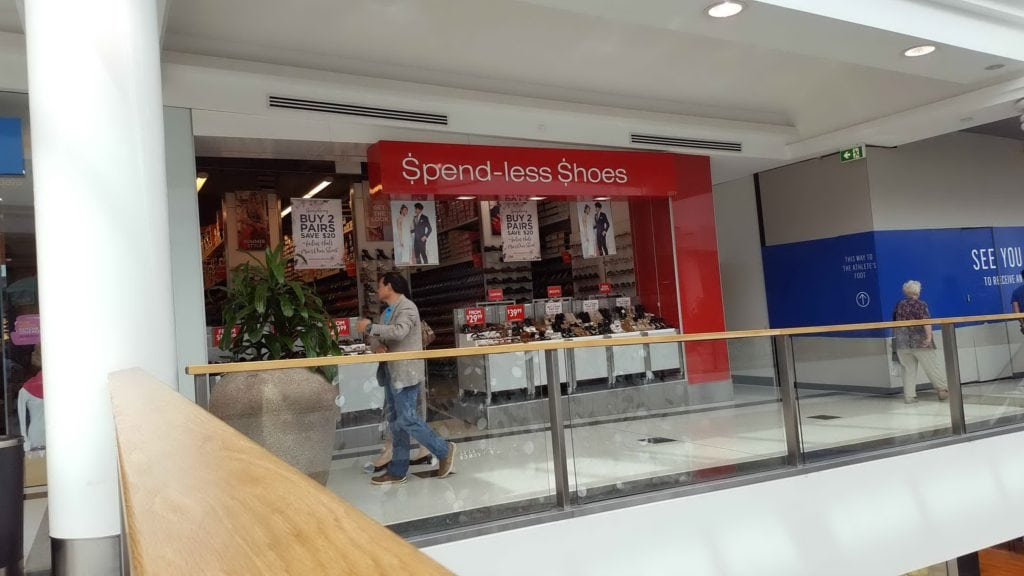 Spendless Shoes Stores