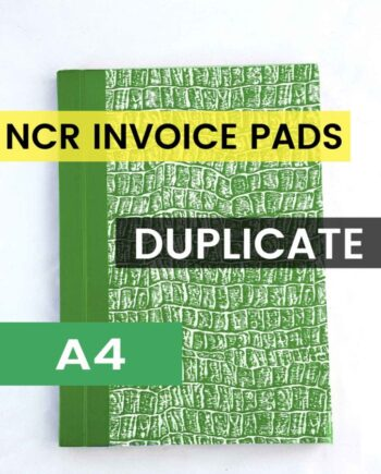 A4 DUPLICATE NCR INVOICE BOOK