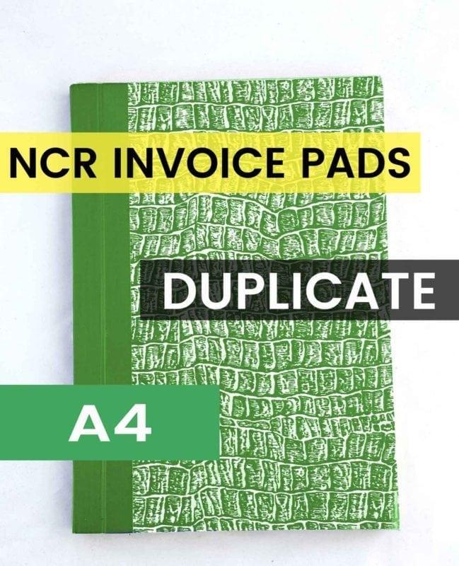 A4 Duplicate Invoice Book