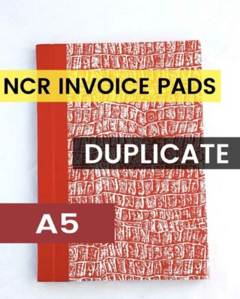 A5 DUPLICATE NCR INVOICE BOOK