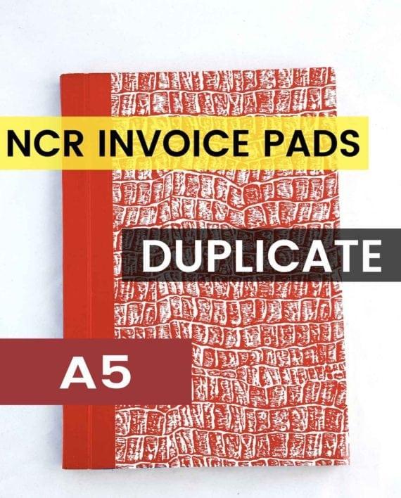 A5 DUPLICATE NCR INVOICE BOOK