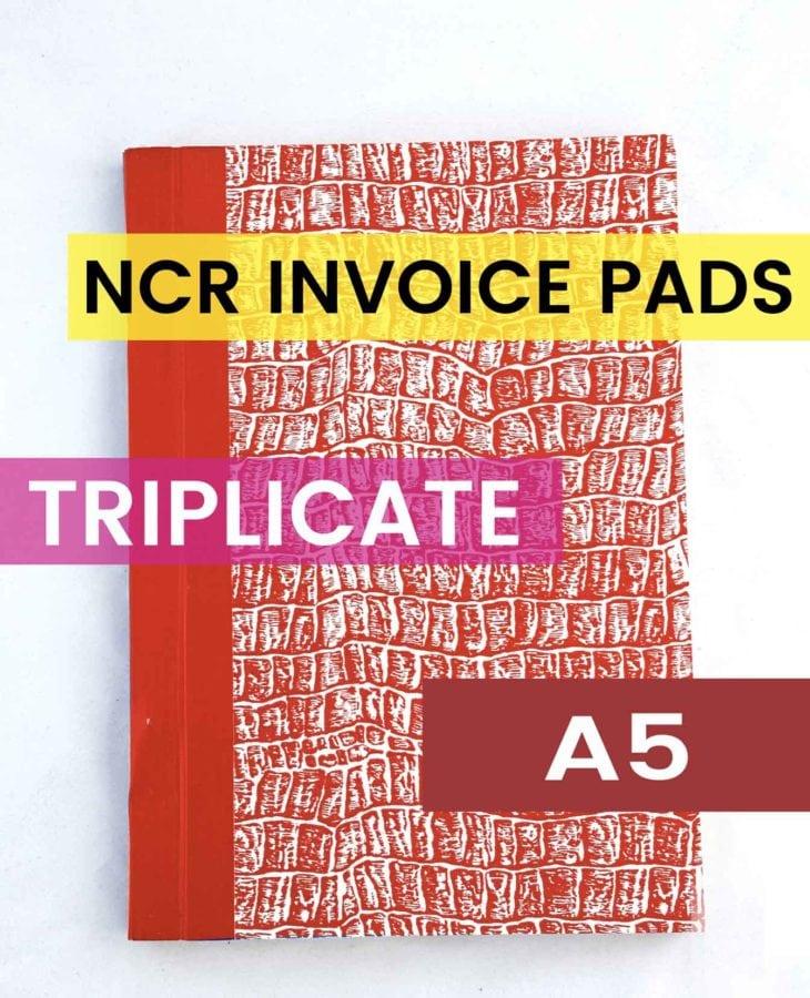 a5 triplicate ncr invoice