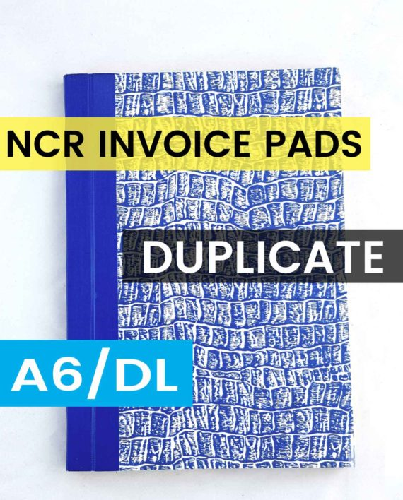A6 dupilcate invoice pads