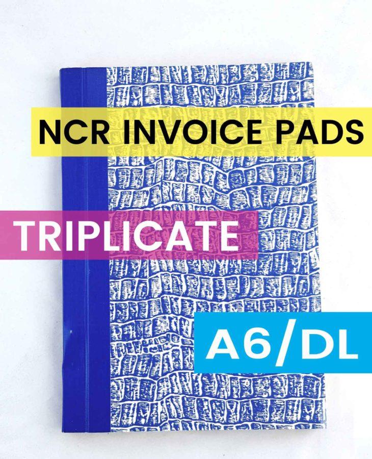 A6 DL TRIPLICATE NCR INVOICE BOOK