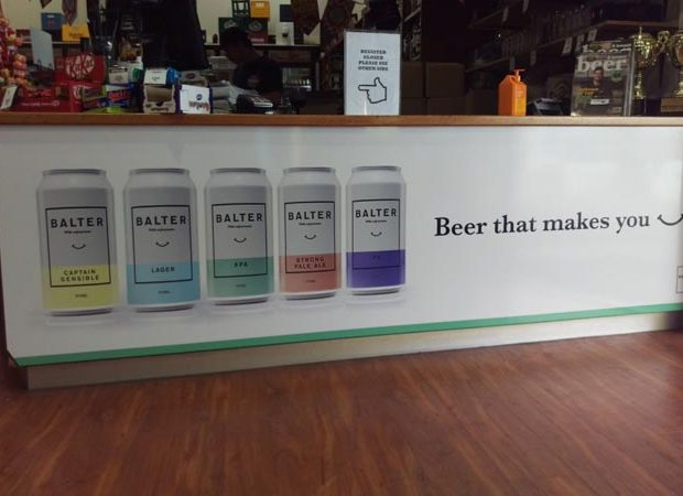 Counter Signage